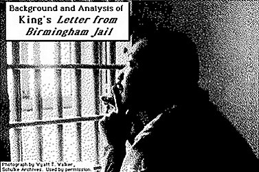 martin luther kings letter from birmingham city jail persuasive writing Equal opportunities and rights in letter from a birmingham jail by dr martin luther king jr 756 words 2 pages the martin luther king jr letter from birmingham jail and its influence on the society as a whole 799 words 2 pages a dream come true 776 words  essay writing blog.