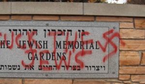 Anti-semitic graffiti