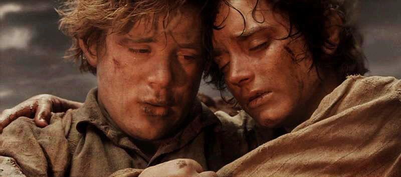 Frodo and Sam